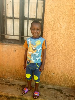 Monthly Sponsorship: MANZI, 5 year old boy