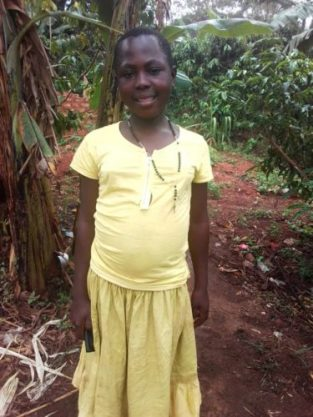 Monthly Sponsorship: CISSY, 12 year old girl