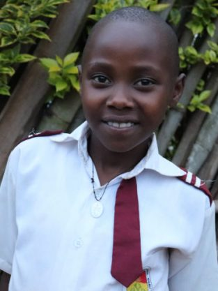 Monthly Sponsorship: DIVINE, 10 year old twin girl