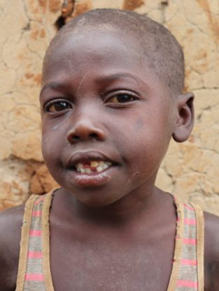 Monthly Sponsorship: FABRICE, 8 year old boy