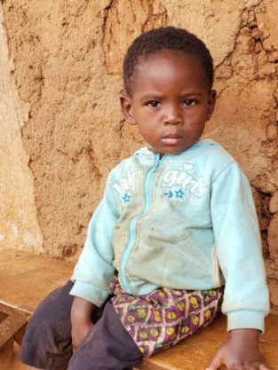 Monthly Sponsorship: KEVINE, 3 year old girl
