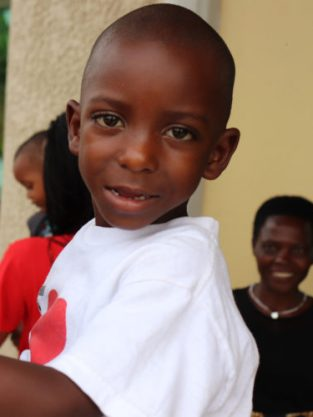 Monthly Sponsorship: STEVE – RWANDA, estimated to be 6-7 years old