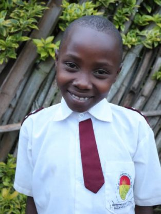 Monthly Sponsorship: VIOLETTE, 12 year old twin girl