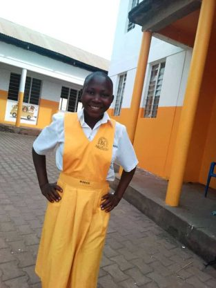 Monthly Sponsorship: JUDITH, 15 year old girl