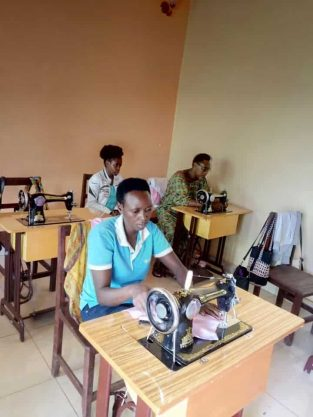 Send one young woman through sewing school